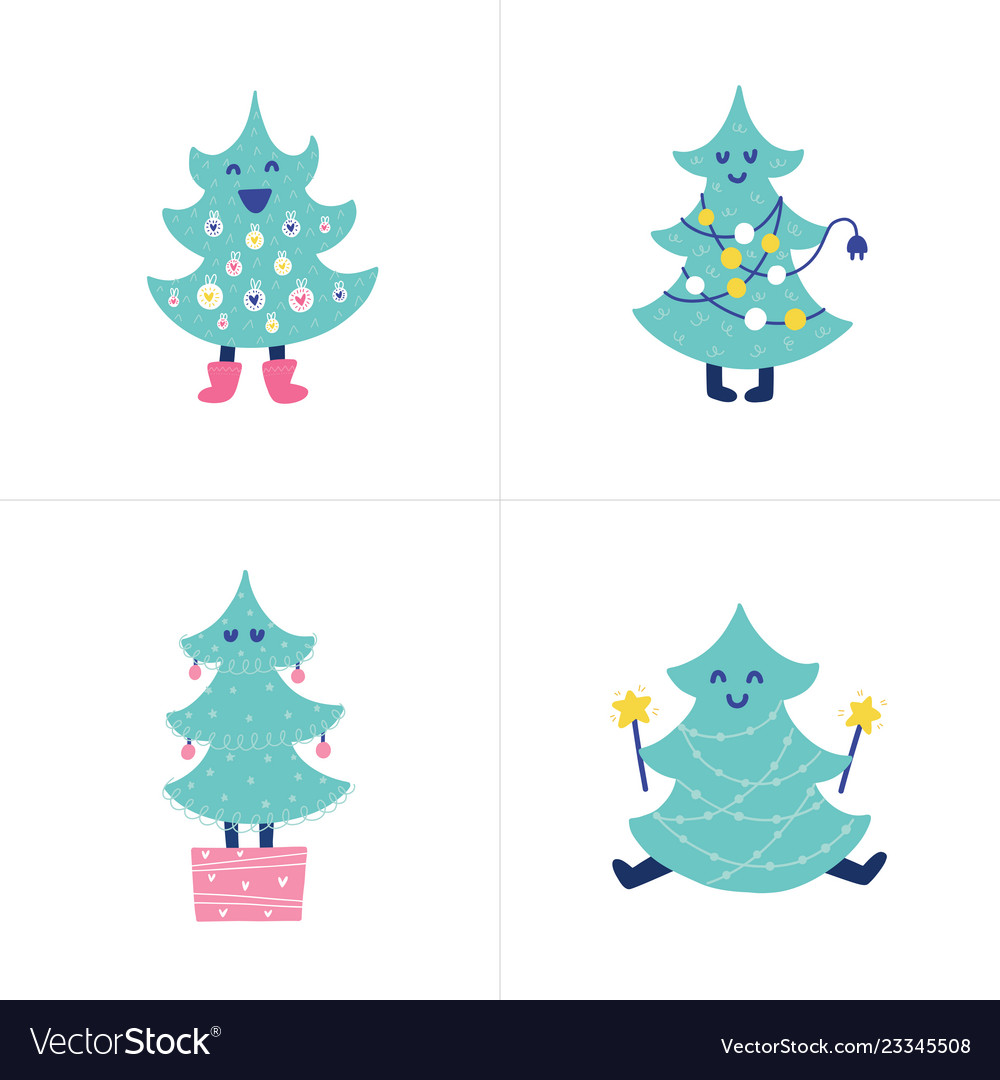 Doodles christmas tree