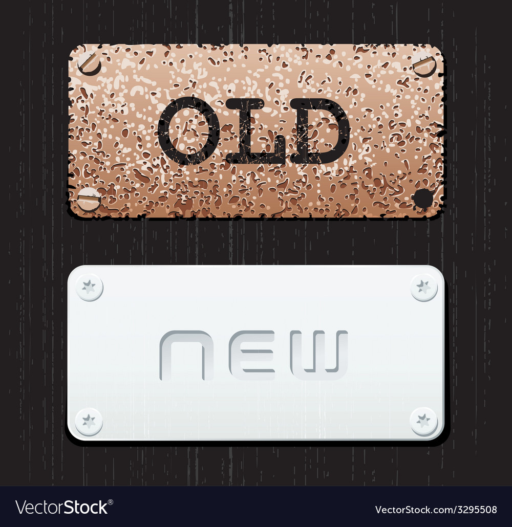 Old new