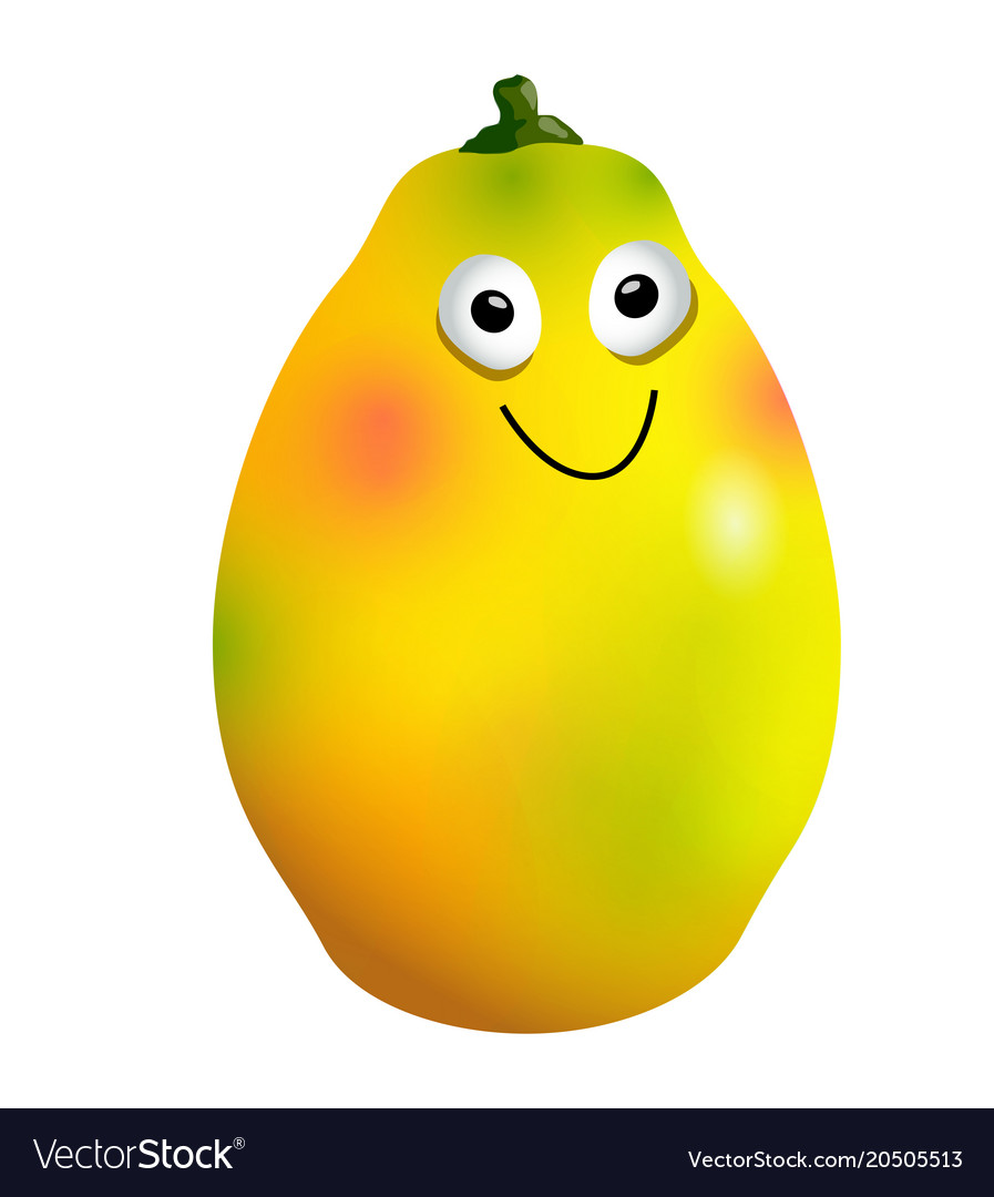 Mango Fruit Cartoon Pictures