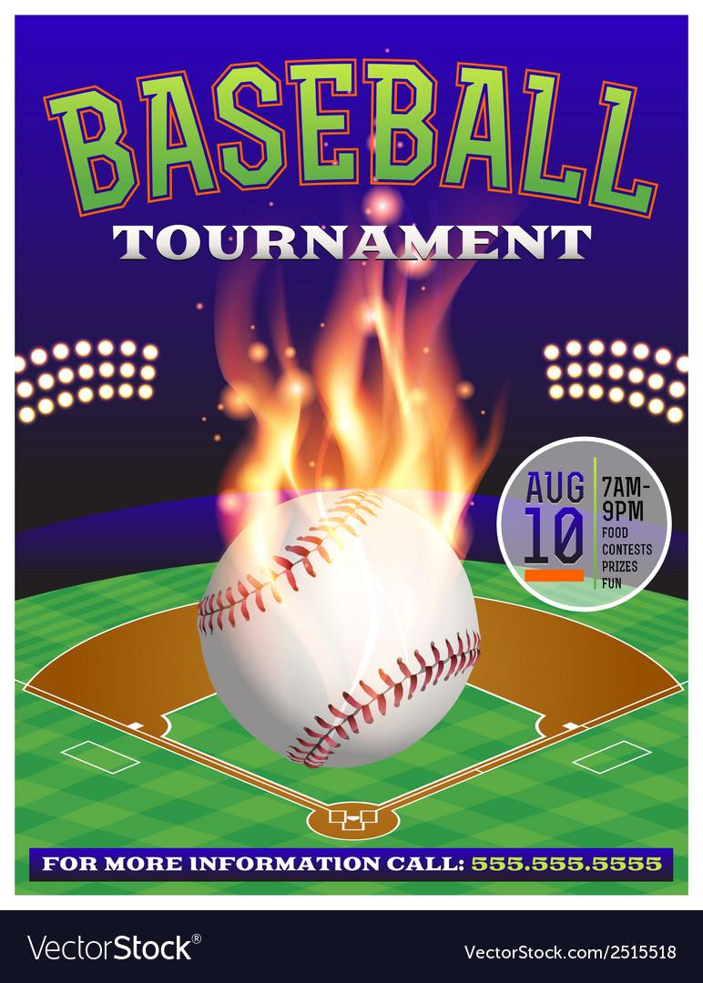 Baseball Tournament Flyer 3