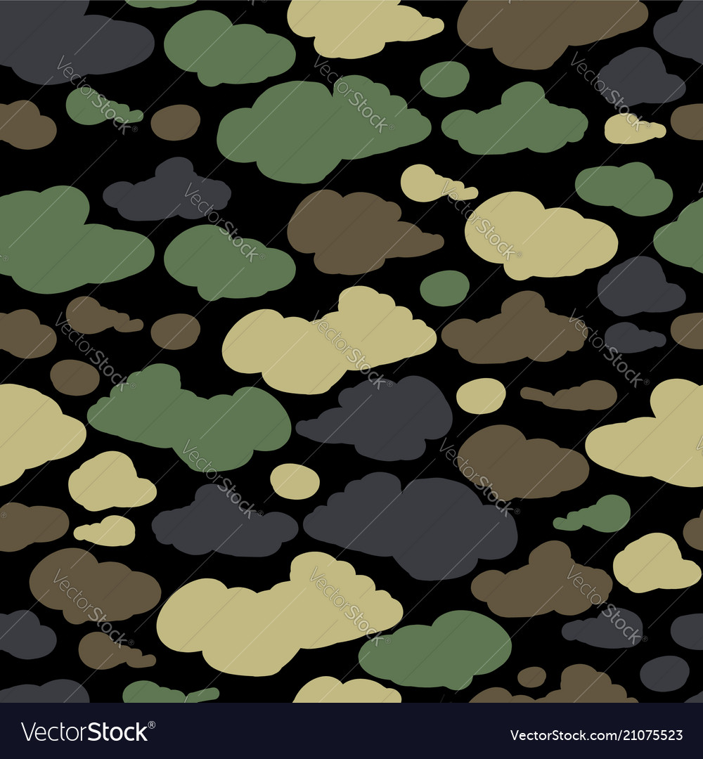 Camouflage background seamless pattern for your