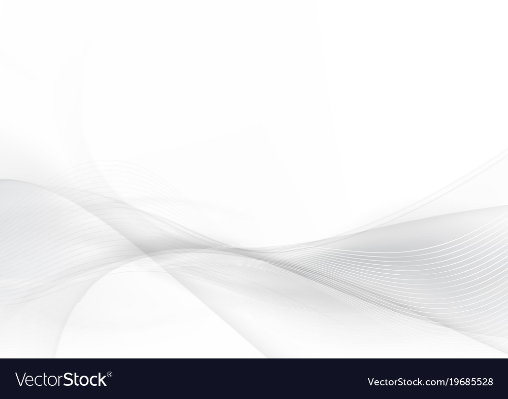 Curve and blend gray and white abstract