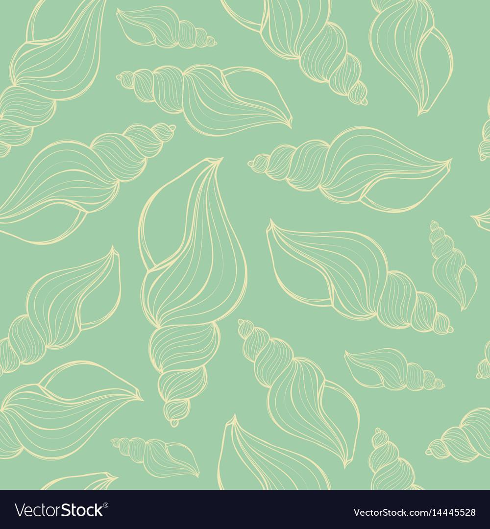 Hand drawn - seamless pattern