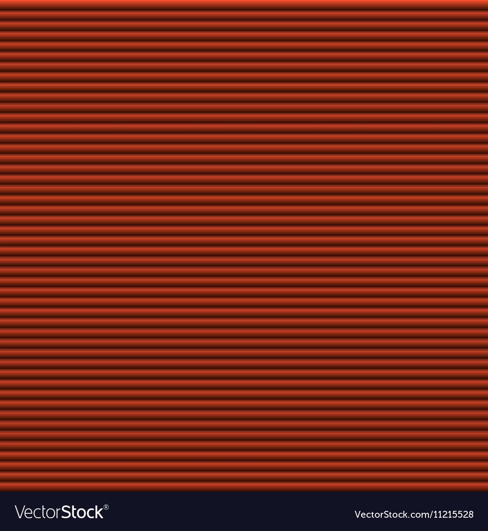 Orange galousie Volume of horizontal lines