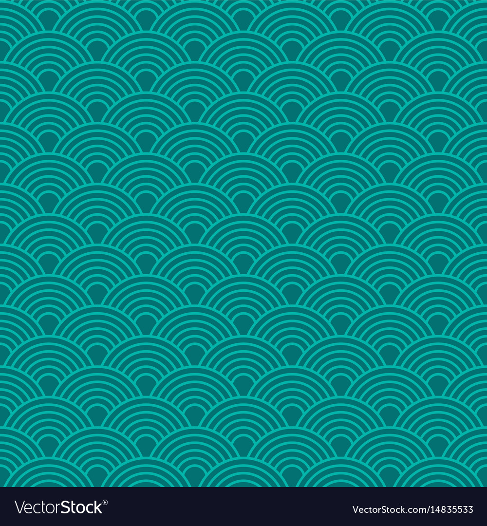 Abstract waves simple seamless deep blue tone