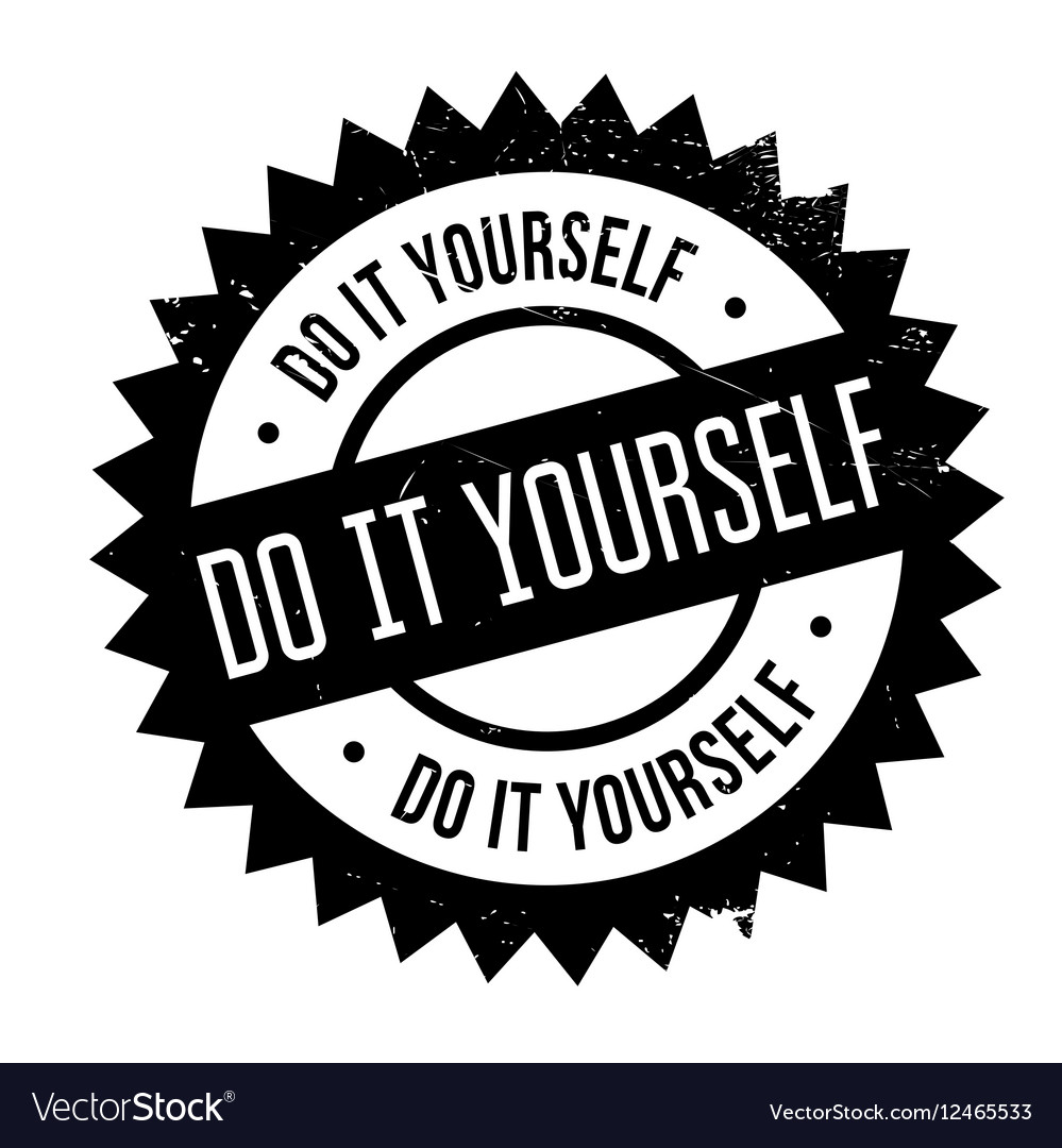 Do it yourself stamp royalty free vector image do it yourself stamp vector image solutioingenieria Gallery