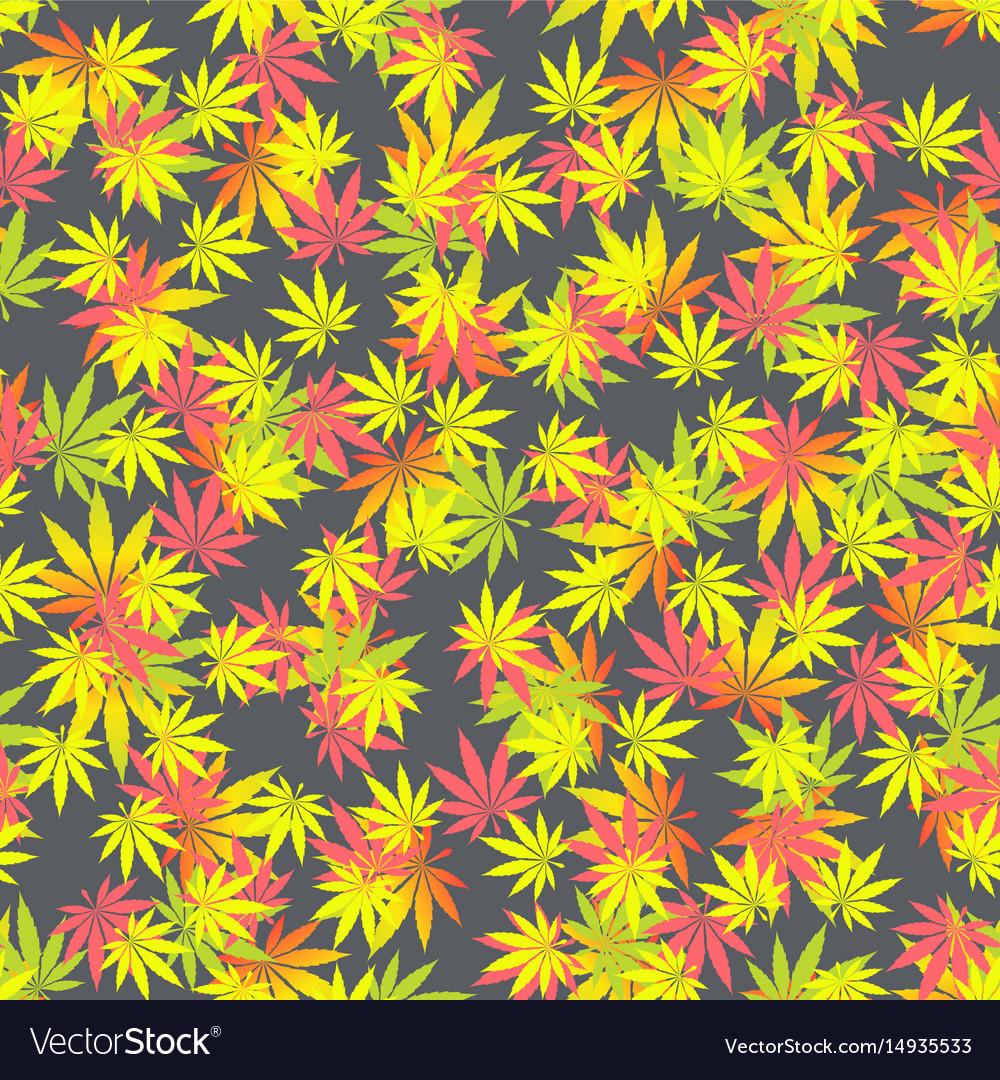 Seamless texture marijuana one