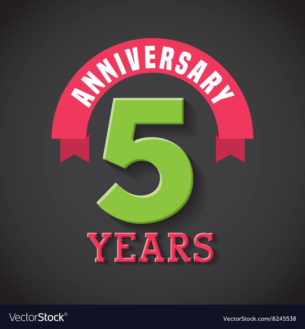 Happy anniversary design