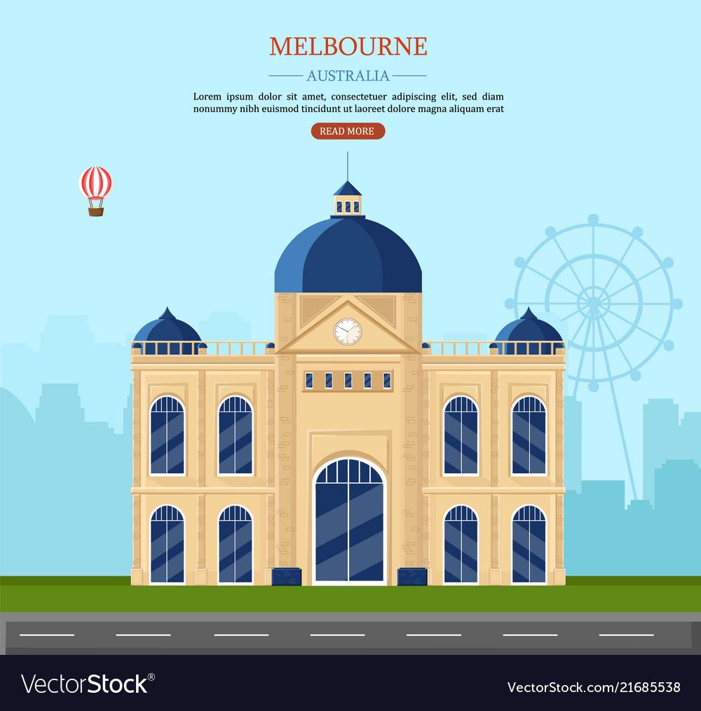 Melbourne australia famous