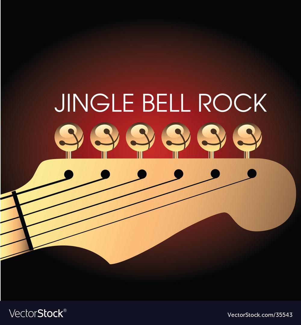 jingle bell rock vector image