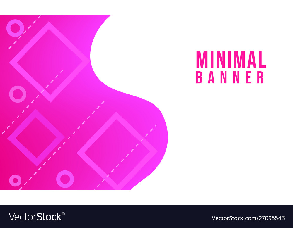 Pink abstract minimal background