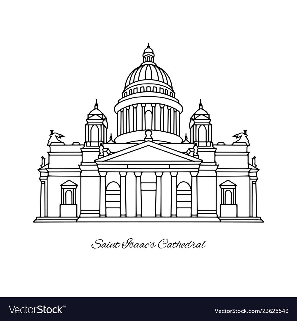 Saint isaacs cathedral of saint petersburg
