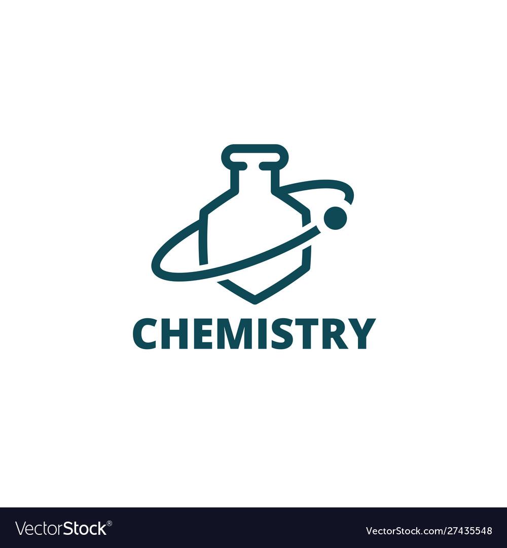 Chemistry logo icon chemical preparations