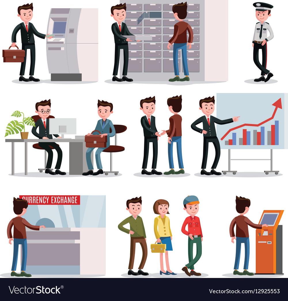 Bank People Set