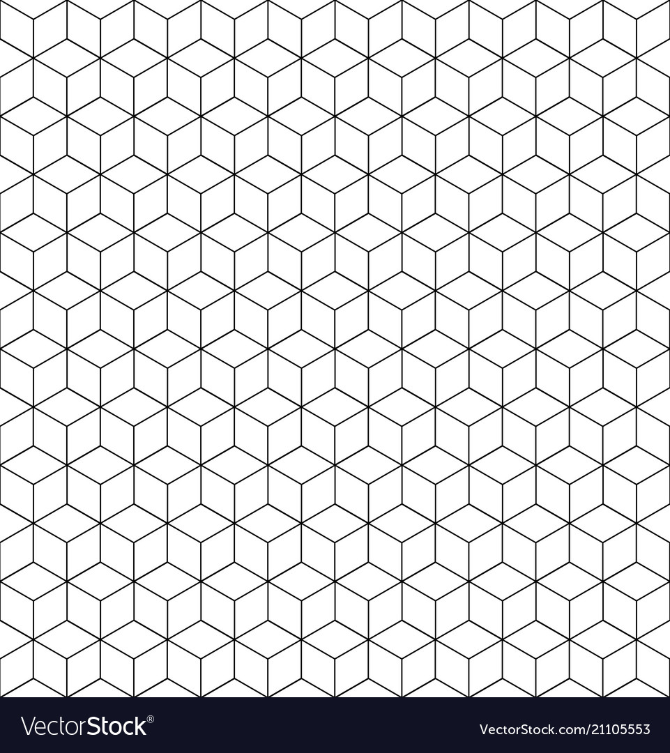 Geometric pattern grid texture