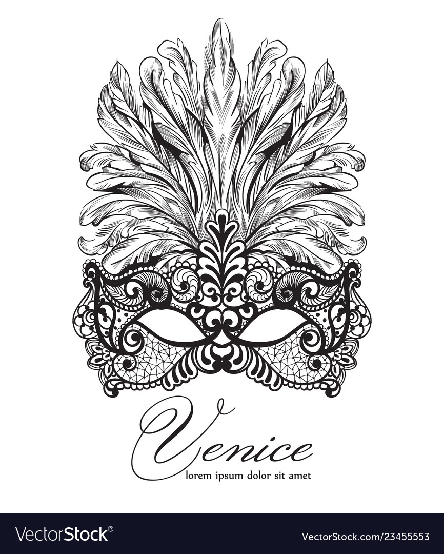 362bc9a373 Glamorous   Mask Vector Images (47)
