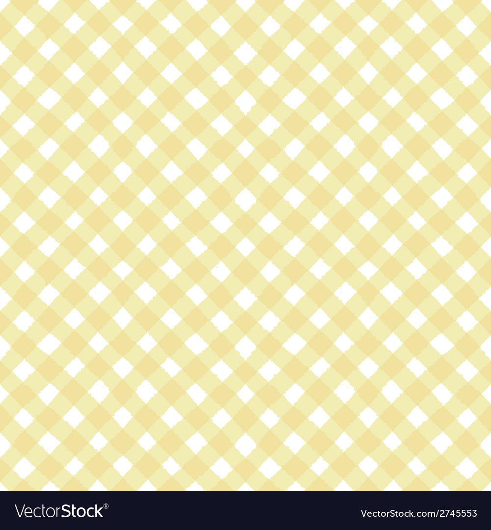 Seamless pattern with cross painted stripes tartan vector image