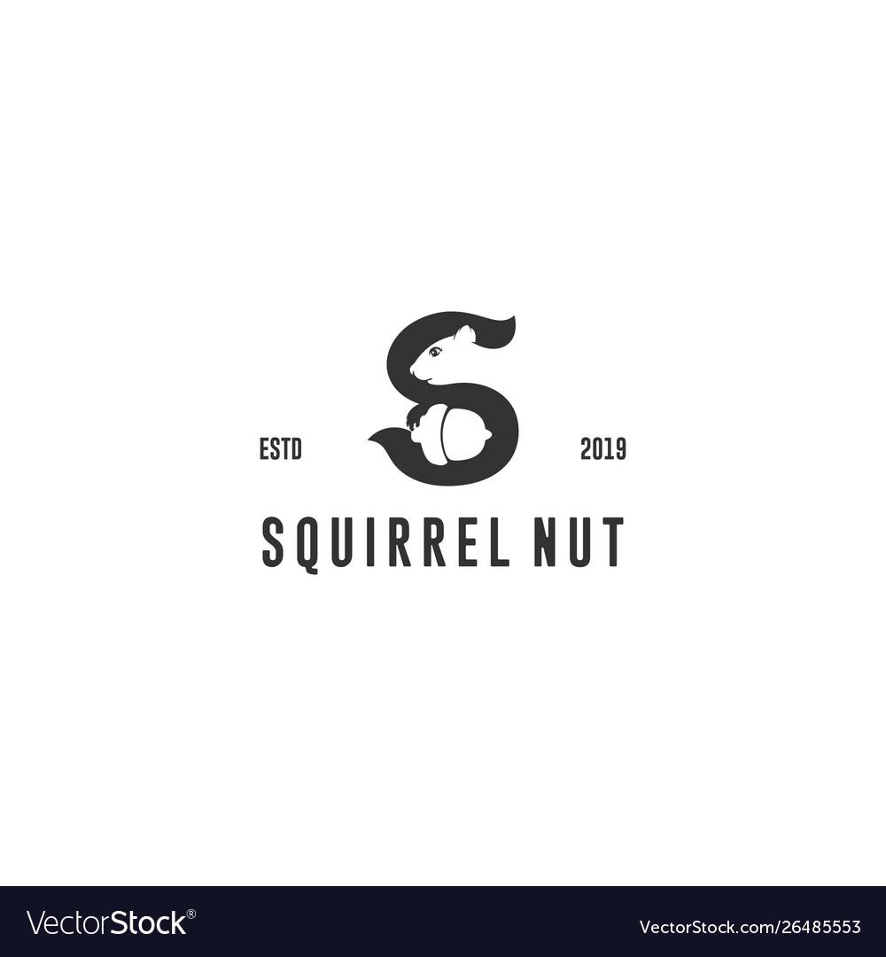 Squirrel nut logo