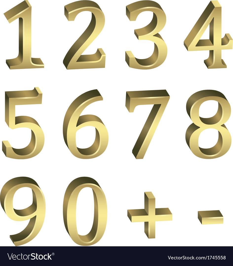 Golden numbers