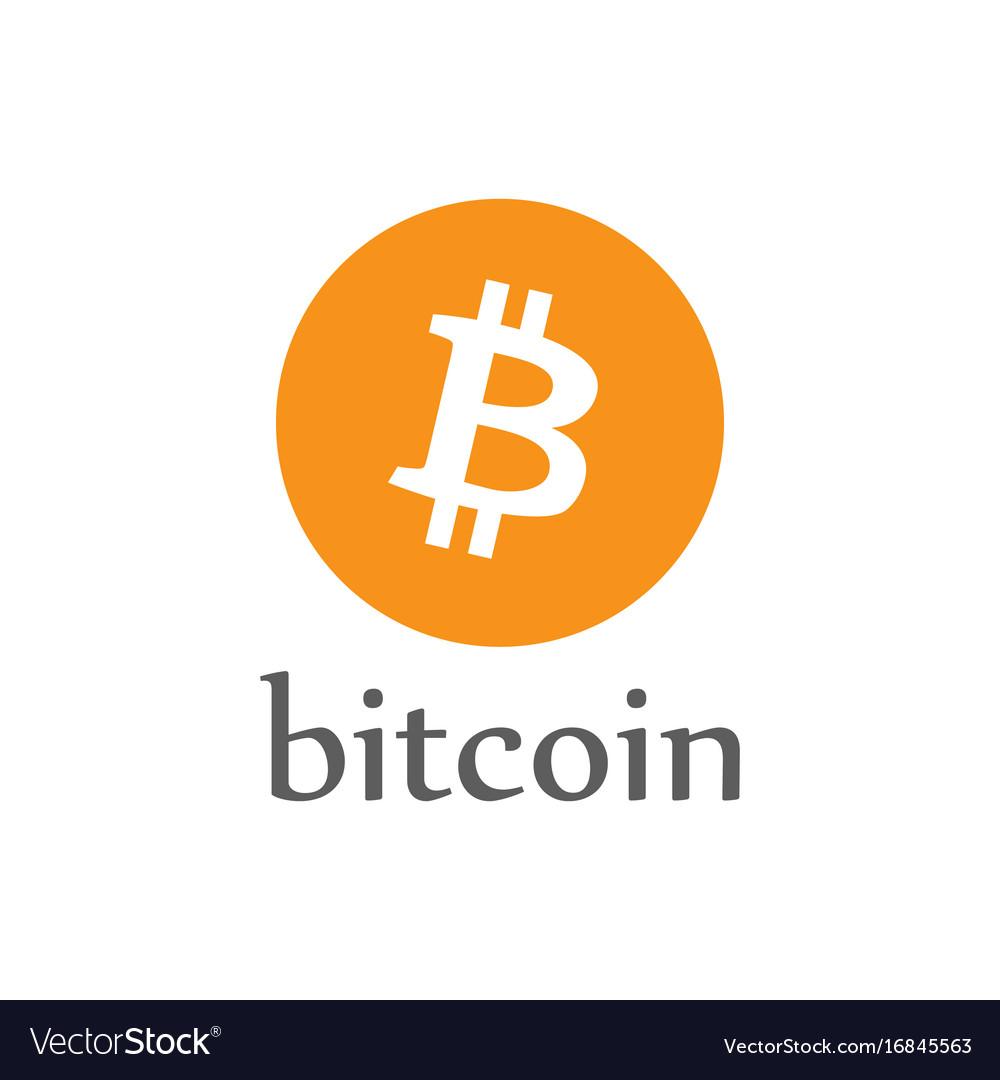 Bitcoin money icon crypto-currency coin