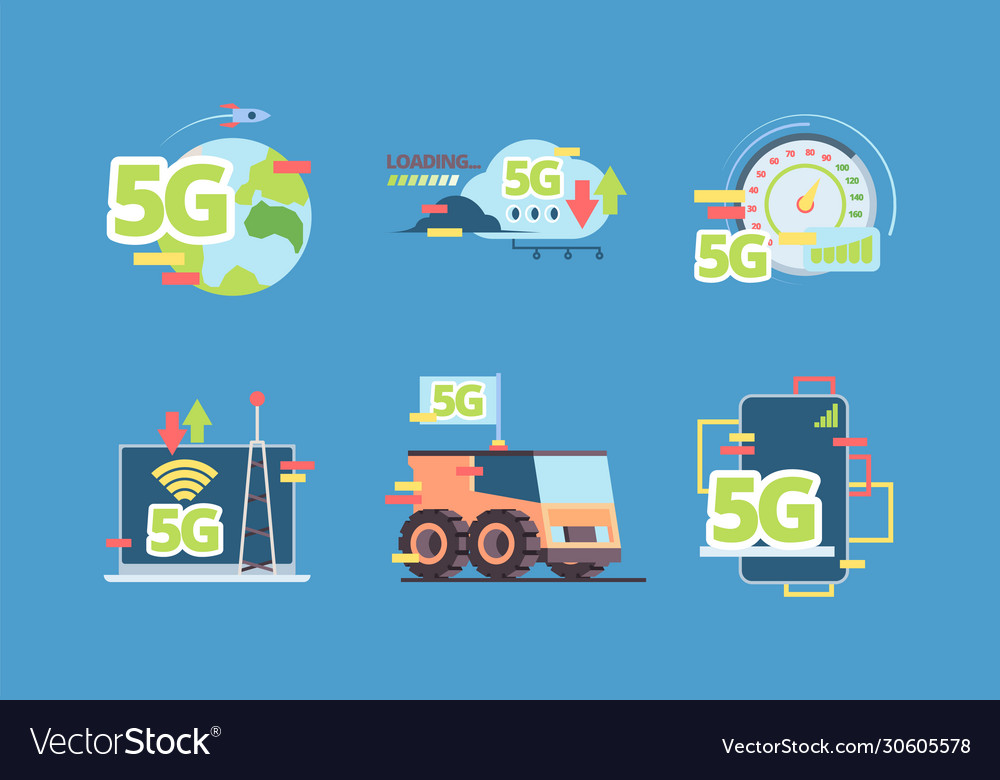 5g technology future fast online connection