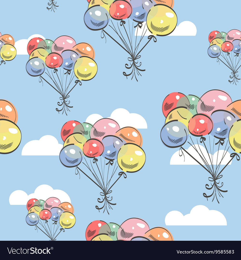 Balloons Backgrond