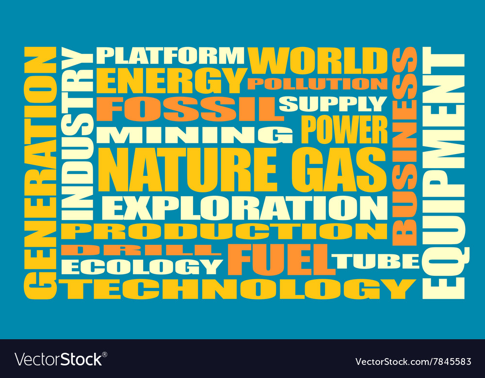 Nature gas industry relative words