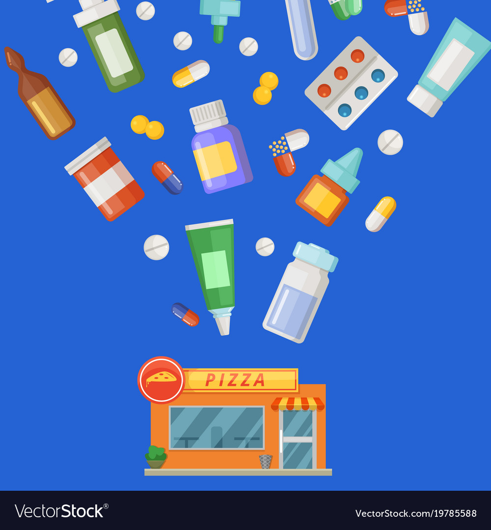 Concept with medicines