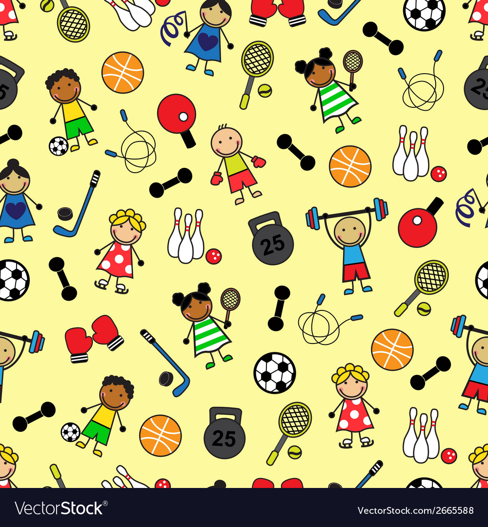 Sport equipment and children