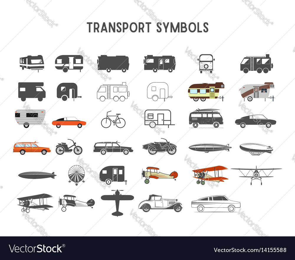 Transport shapes and elements for creation