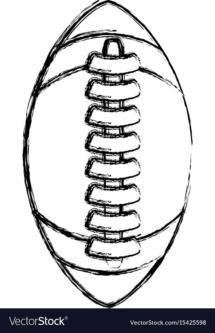 Isolated american football