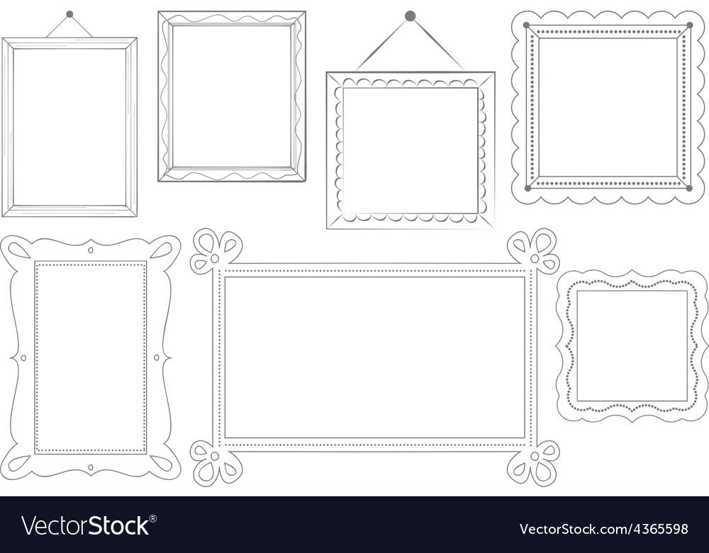 Sketched Doodle Frames