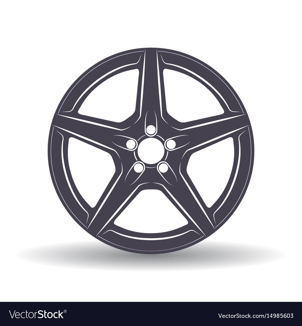 Auto disk black