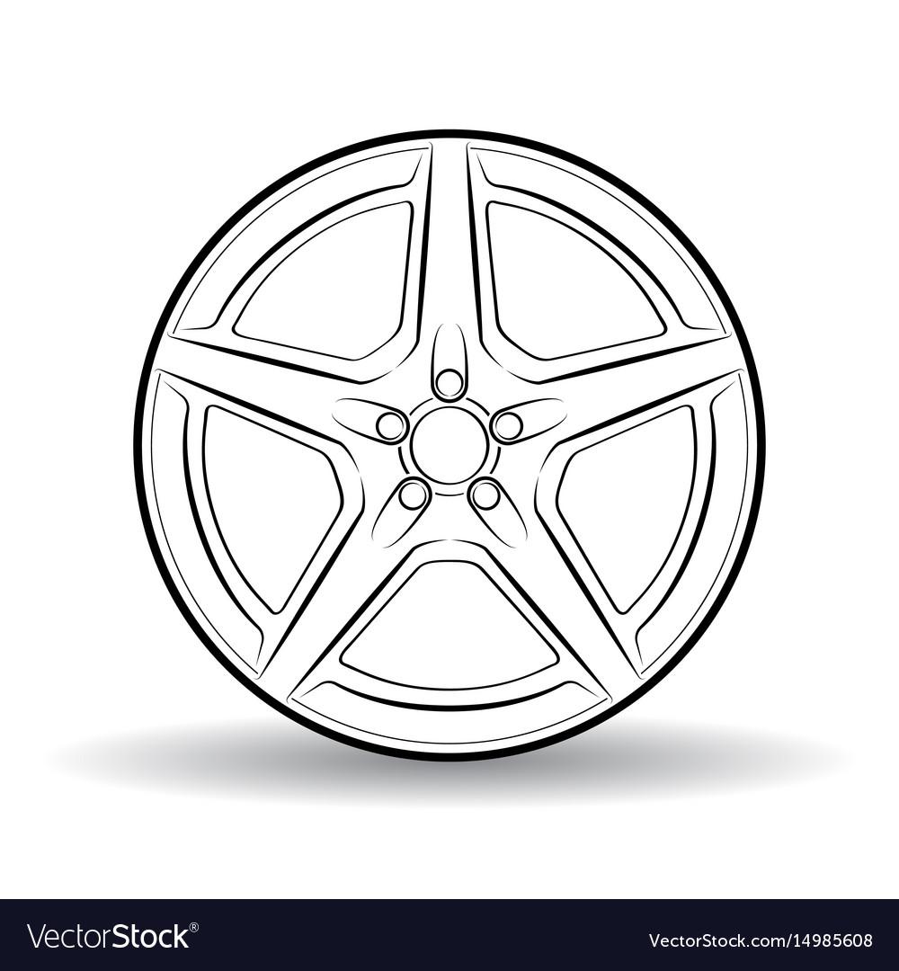 Auto disk white