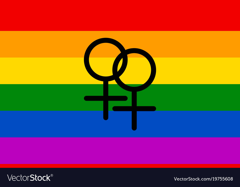 Homosexual symbol rainbow