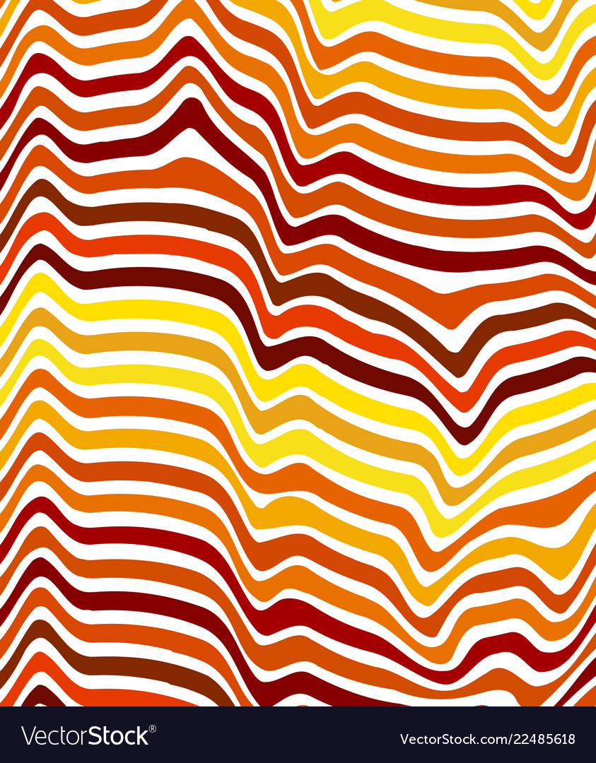 Abstract color wavy background line pattern for