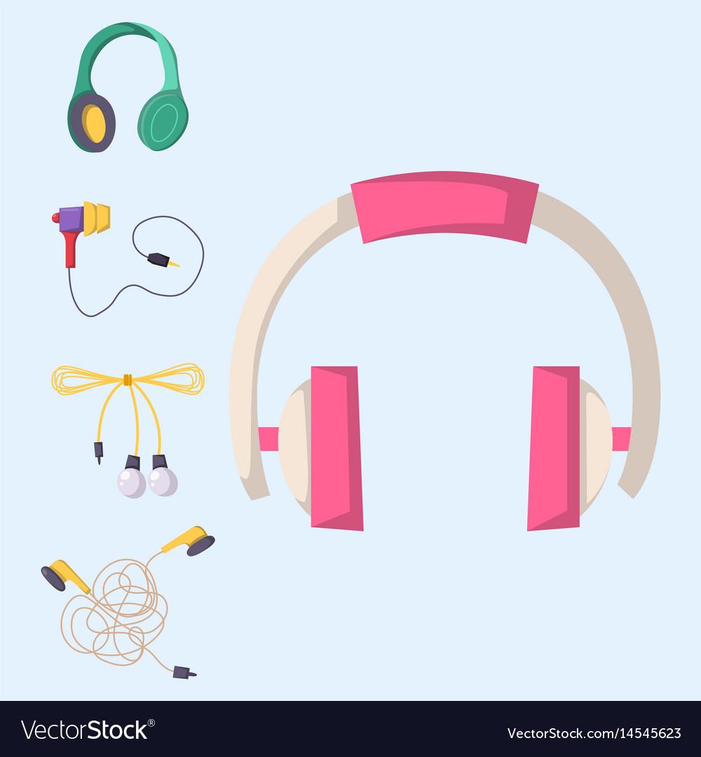 Headphones set music technology accessory