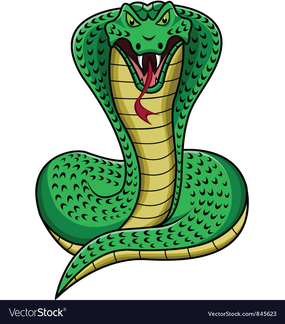 king cobra royalty free vector image vectorstock