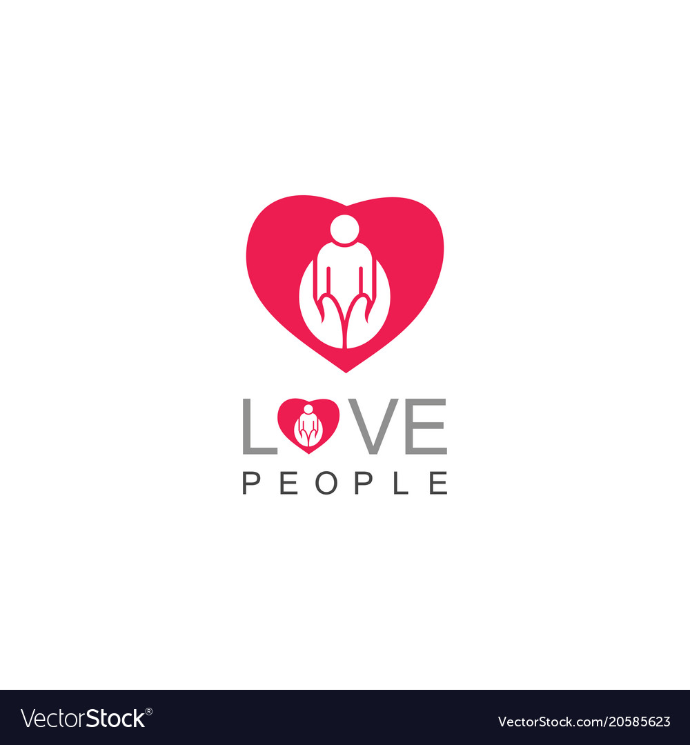 Love people care logo
