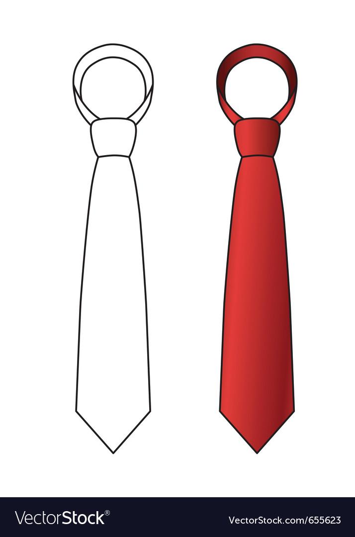 necktie design template