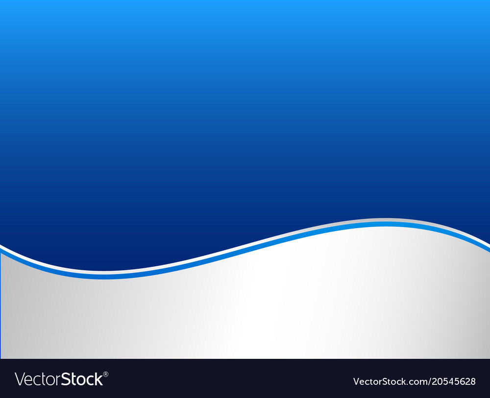 Abstract stripe wave lines graphic blue and white