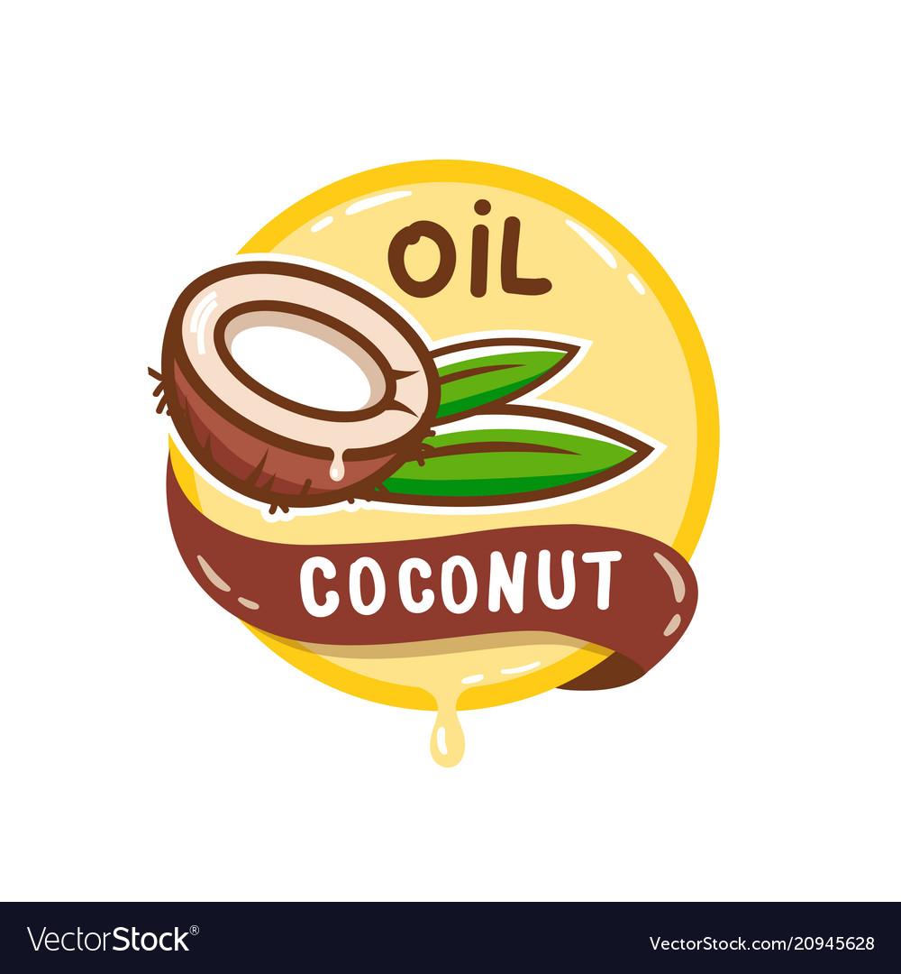 Coconut oil logo