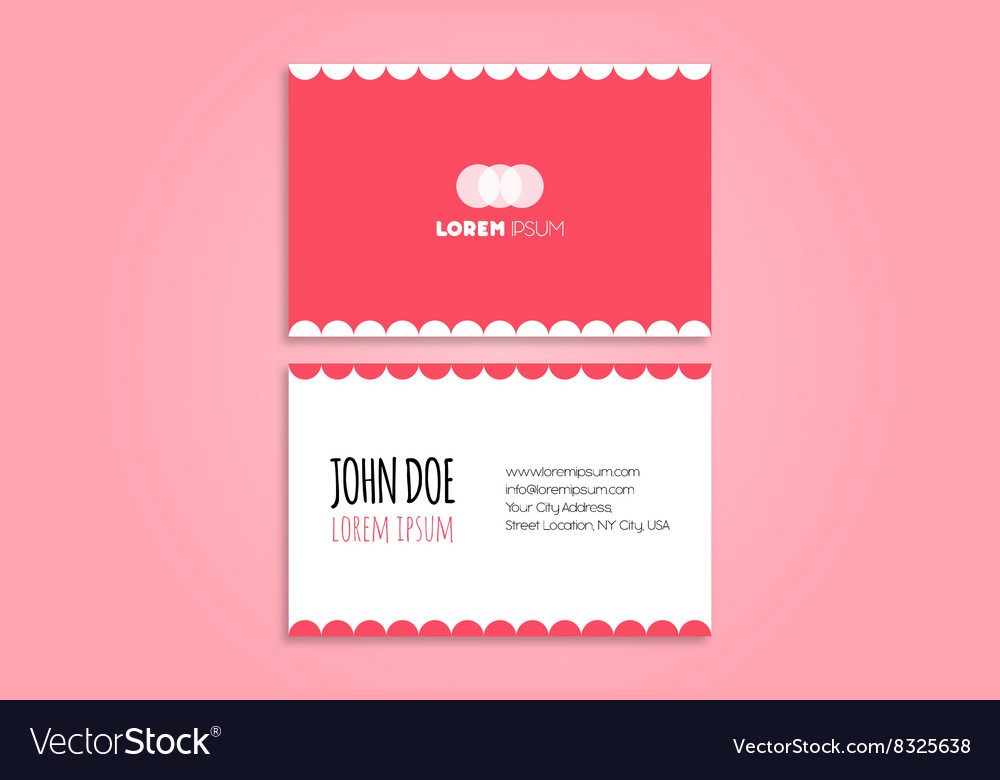 Funny modern business card design royalty free vector image funny modern business card design vector image colourmoves