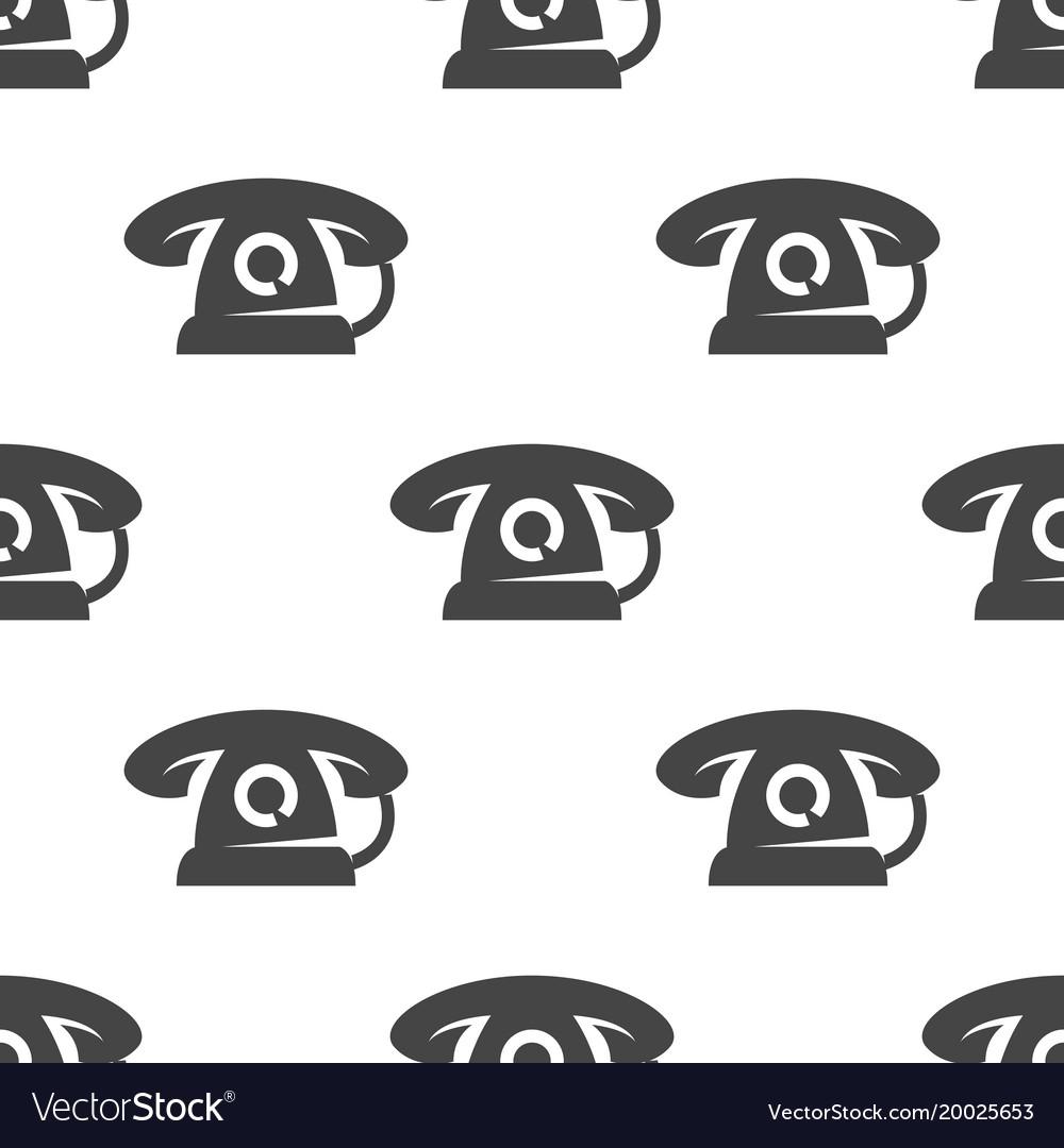 Phone seamless pattern
