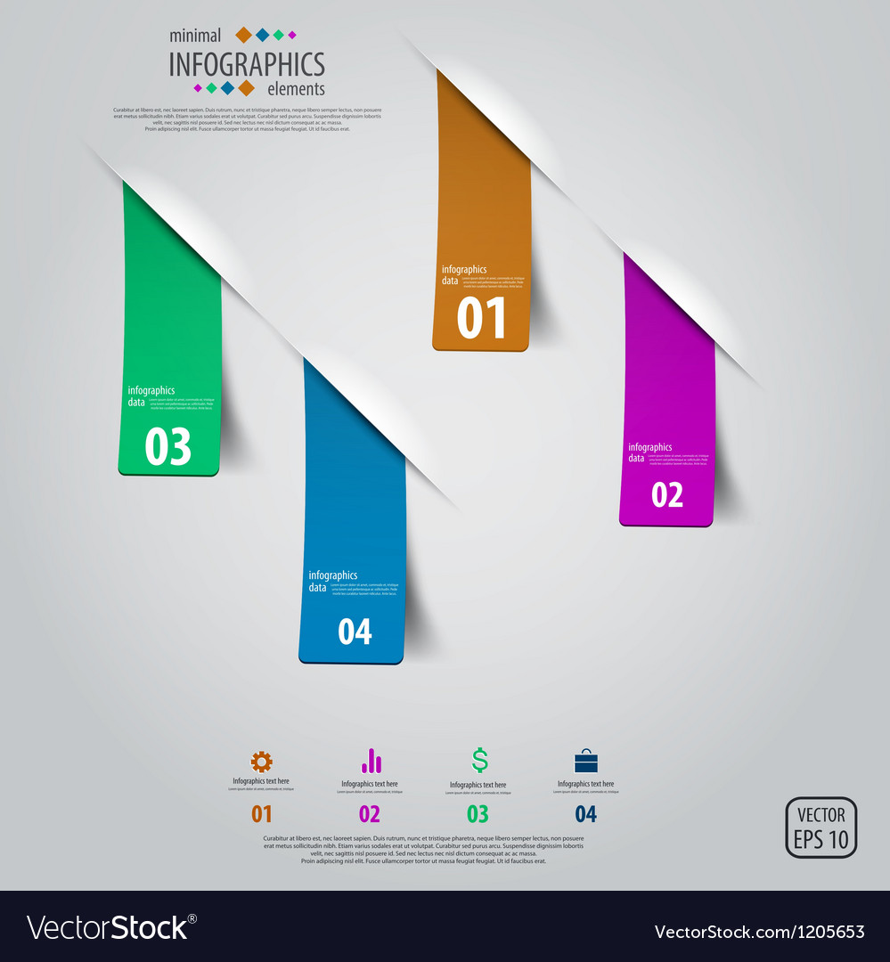 Tags infographics design