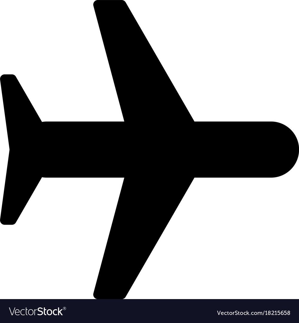 Airplane Icon Royalty Free Vector Image Vectorstock