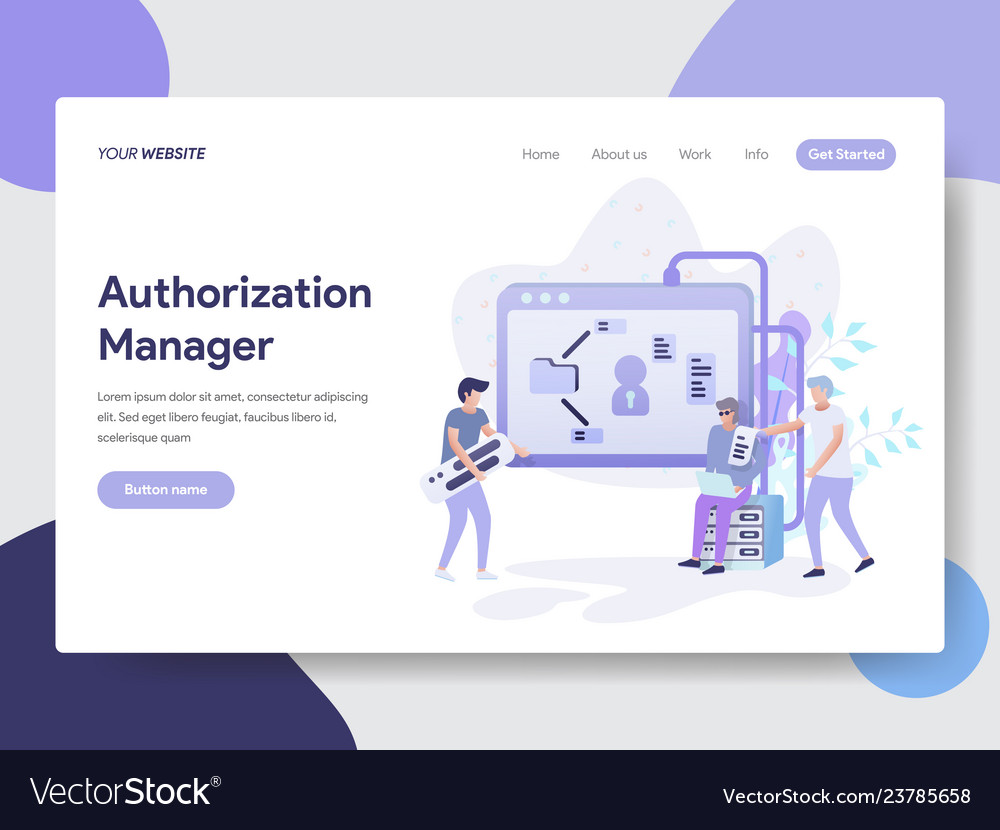 Authorization manager concep