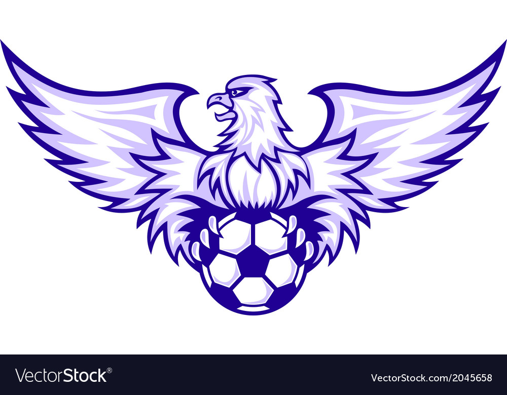 Eagle with ball