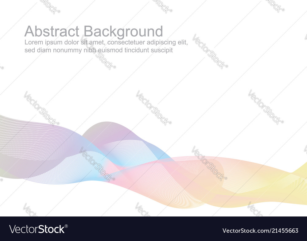 Abstract colorful pastel wave style background