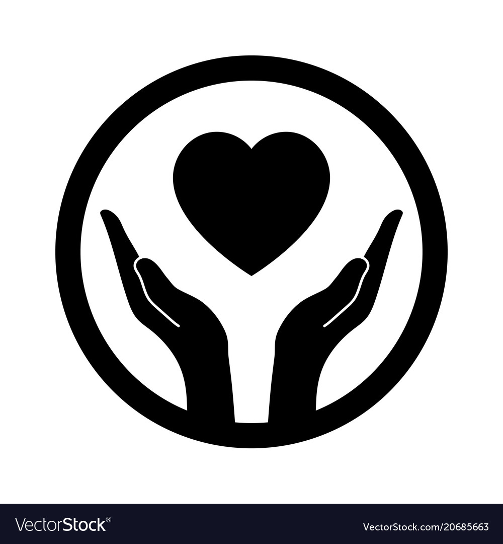 Hands that protect the heart